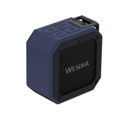 Parlante Wesdar Bluetooth portátil Azul