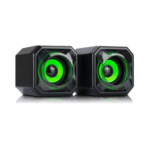 Parlante Wesdar USB Verde