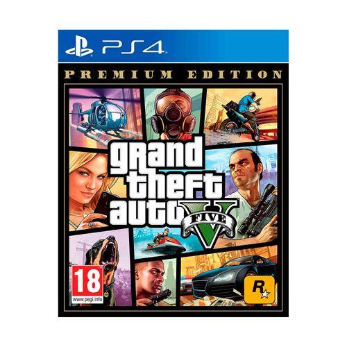 Juego Grand Theft Auto V Premium Online Edition PS4