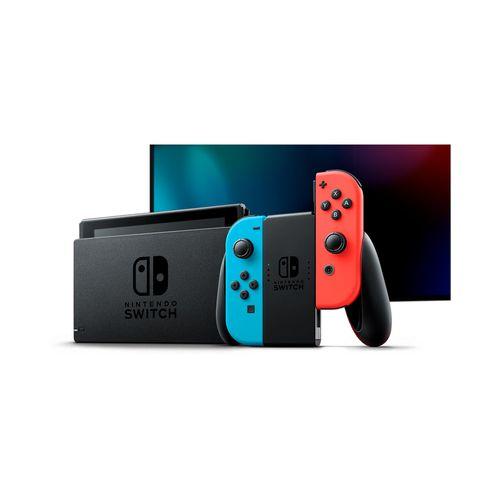 Consola Nintendo Switch Neon V1.1 Batería Extendida