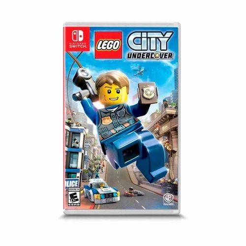Juego Nintendo Switch Lego City undercover