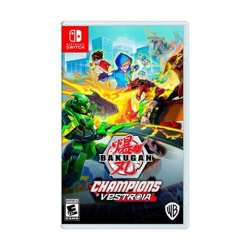 Juego Nintendo Switch Bakugan Champions of vestroia