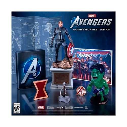 Juego PS4 Marvel Avengers Earth's Mightiest Edition