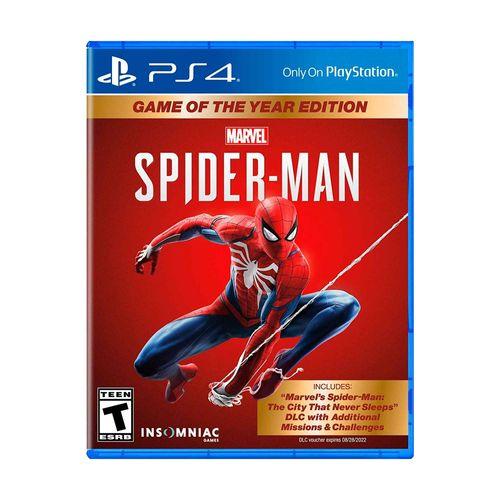 Juego PS4 Spiderman Goty juego