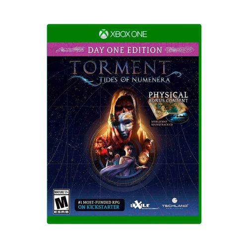 Juego X-Box Torment Tides of numenera day one edition