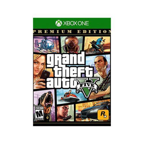 Juego X-Box Grand Theft Auto 5 Premium online edition