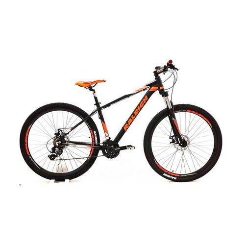 Bicicleta Raleigh Mojave 2.0 Rodado 29 Negro y Naranja Talle 15