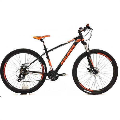 Bicicleta Raleigh Mojave 2.0 Rodado 29 Negro y Naranja Talle 21