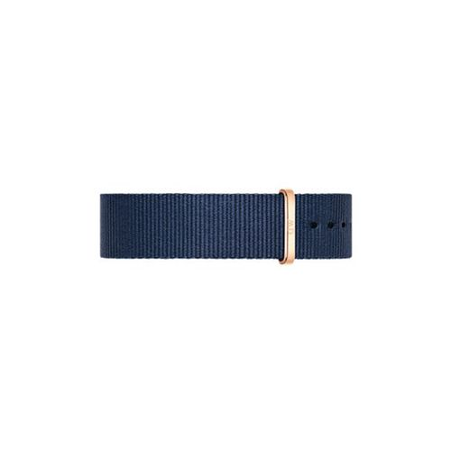 Correa Daniel Wellington Classic Bayswater para bisel 40mm azul