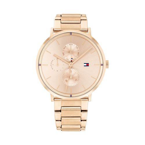 Reloj Tommy Hilfiger Jenna para mujer de acero rosé 1782296