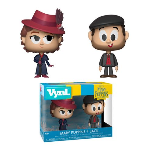 Funko Vynl. Mary Poppins + Jack (2 Pack) - Mary Poppins Returns