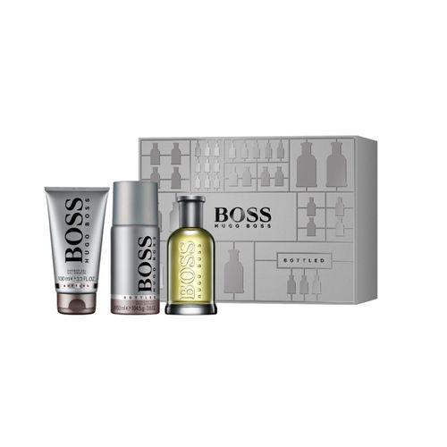 Set Hugo Boss EDT 100ml + Desodorante Spray 150ml + Shower Gel 100ml
