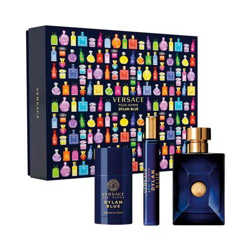 Set Versace Dylan Blue Pour Homme EDT 100ml + Desodorante 75ml + Travel Spray 10ml