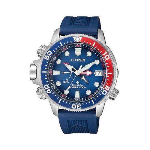 Reloj Citizen para hombre con correa de silicona CTBN203801L