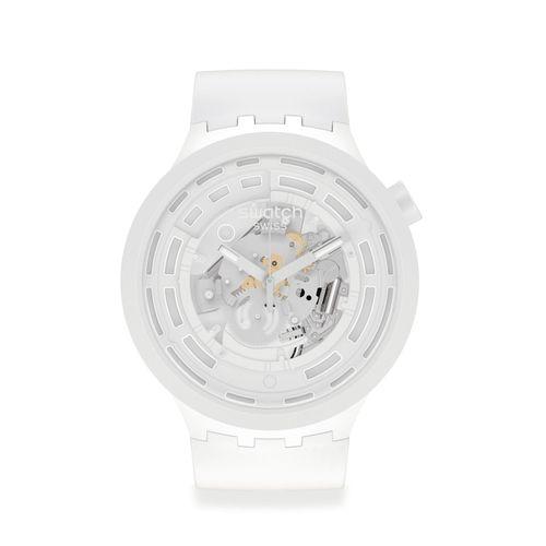 Reloj Swatch Bioceramic C-WHITE