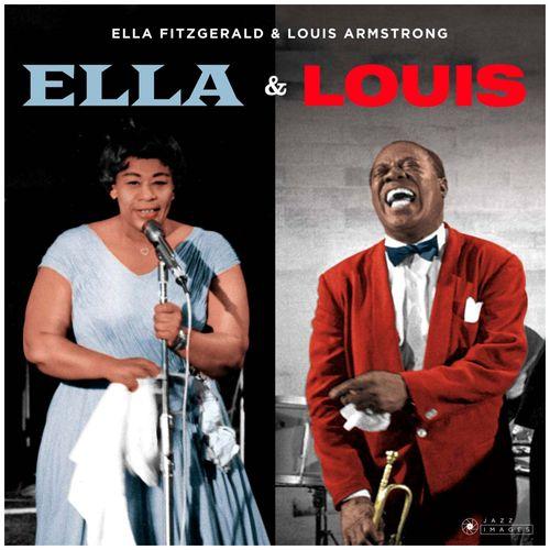 """Disco de Vinilo Ella Fitzgerald & Louis Armstrong  """"Ella & Louis"""""""