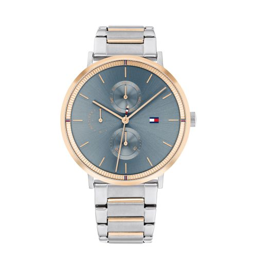 Reloj Tommy Hilfiger Jenna para mujer de acero bicolor 1782298