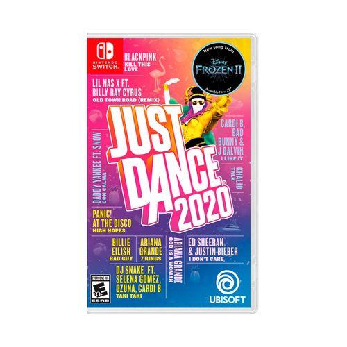 Juego Nintendo Switch Just Dance 2020