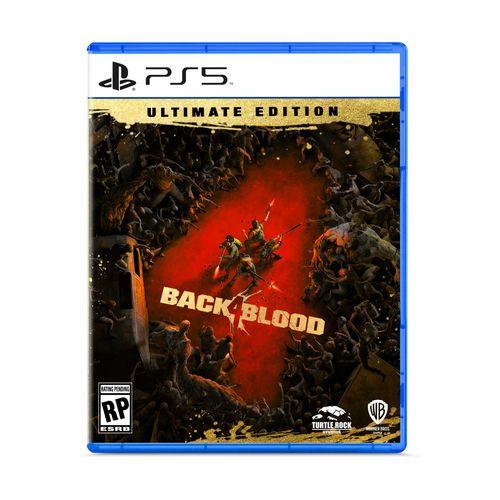 PREVENTA 26/10/21 Juego PS5 Back 4 Blood Ultimate Edicion