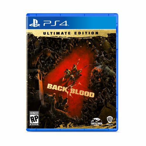 PREVENTA 26/10/21 Juego PS4 Back 4 Blood Ultimate Edicion