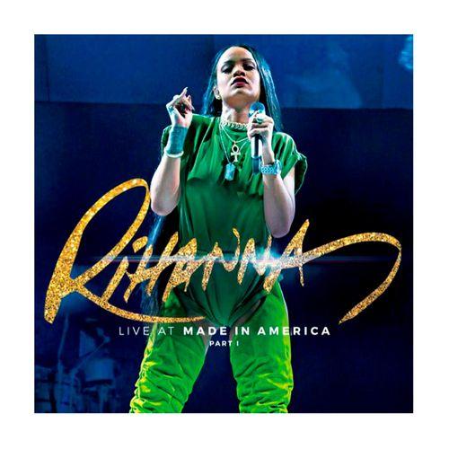 """Disco de Vinilo Rihanna """"Live at made in America"""""""