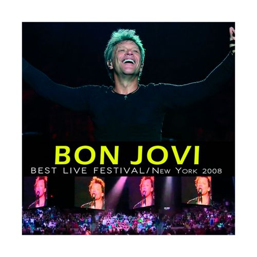 "Disco de Vinilo Bon Jovi ""Best live festival / New York"""