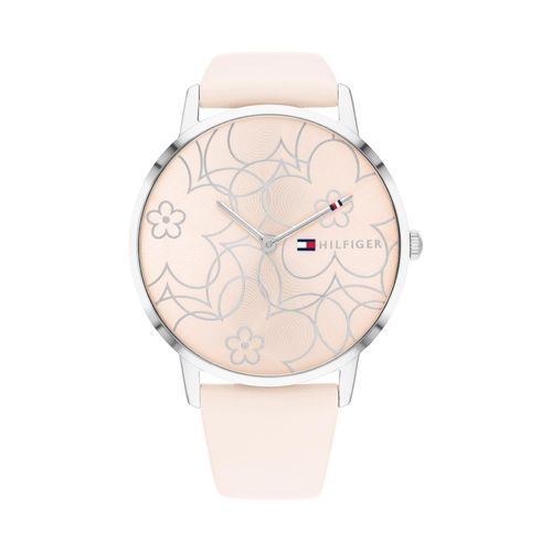 Reloj Tommy Hilfiger Alex para mujer de cuero rosa 1782367