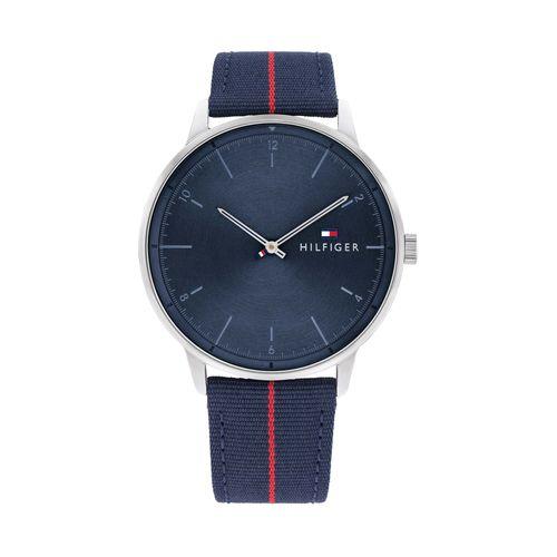 Reloj Tommy Hilfiger Hendrix para hombre de nylon azul 1791844