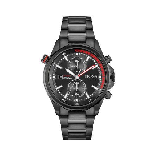 Reloj Boss Globetrotter para hombre de acero negro 1513825