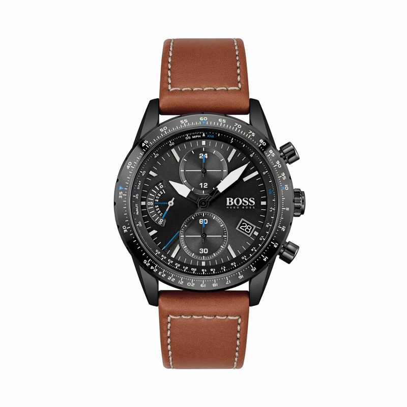 Reloj-Boss-Pilot-Edition-Chrono-para-hombre-cuero-1513851_01