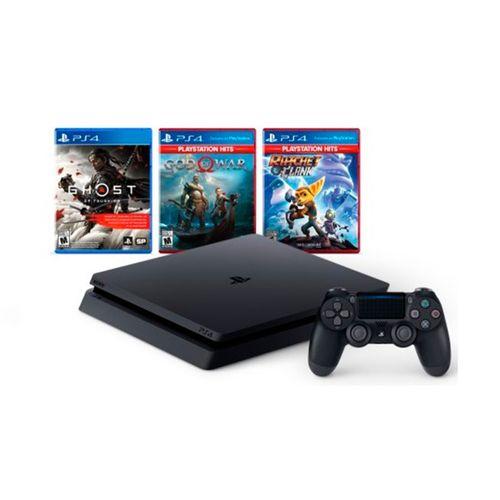 Consola PS4 Slim 1tb Mega Pack 18