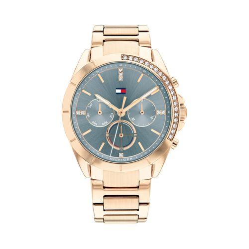 Reloj Tommy Hilfiger Kennedy para mujer de acero rosé 1782386