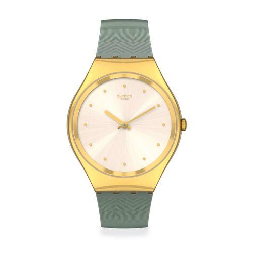 Reloj Swatch Green Moire SYXG113