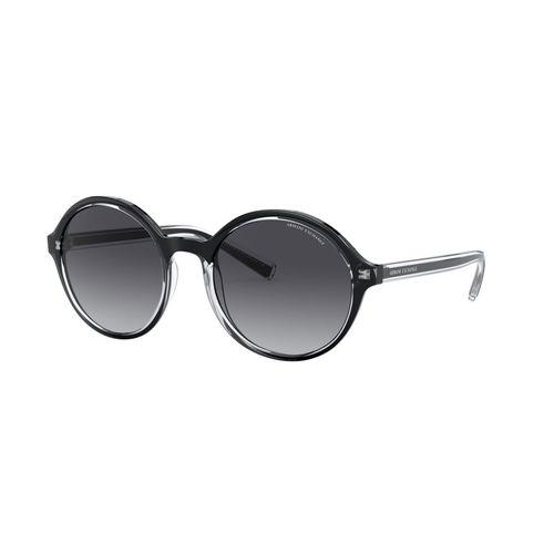 Lentes Armani Exchange de Mujer Shiny Black Gradient Grey