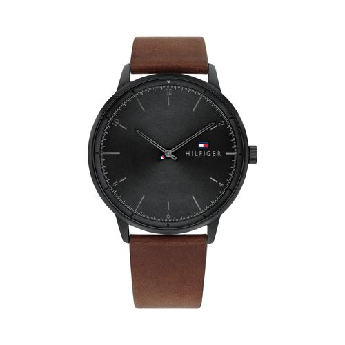 Reloj Tommy Hilfiger Hendrix para hombre de cuero marrón 1791876