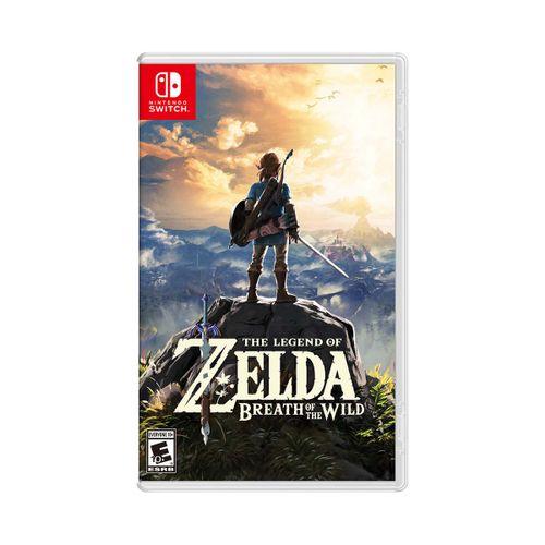 Juego Nintendo Switch The Legend Of Zelda Breath Of The Wild